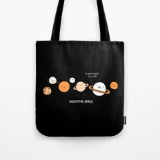 Negative Space Tote Bag