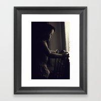 Curious V.5 Framed Art Print