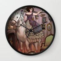 The Victorian Room Wall Clock