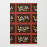 Wonka Bar Canvas Print
