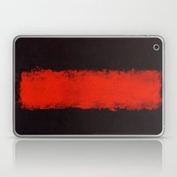 Black, Red and Black 1968 Mark Rothko Laptop & iPad Skin