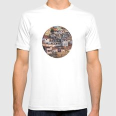 Favela Mens Fitted Tee SMALL White