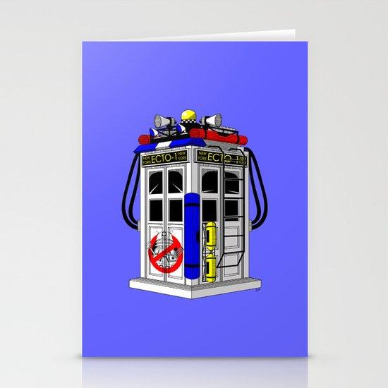 Tardis-1 Stationery Card