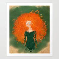 Merida From Brave (Pixar… Art Print