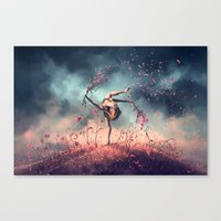 VIRGO From The Dancing Z… Canvas Print