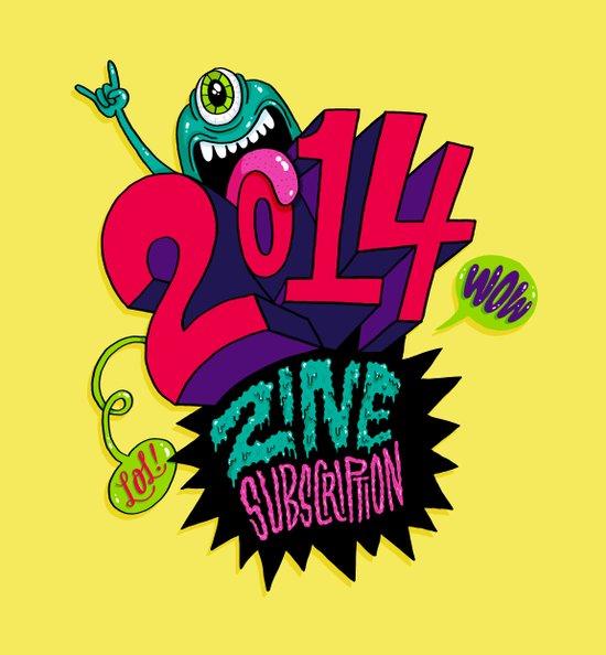 2014 Zine Subscription! Art Print