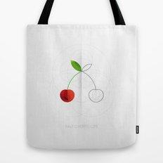 HALF (cherry) LIFE Tote Bag