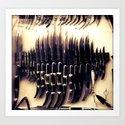 Blade Art Print