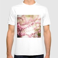 Beautiful Light Mens Fitted Tee White SMALL