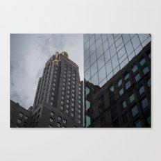 Carbide & Carbon Building Canvas Print