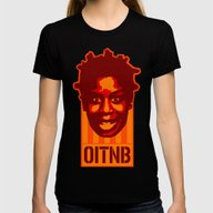 Crazy Eyes  |  O.I.T.N.B… Womens Fitted Tee Black SMALL