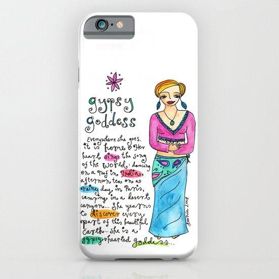 Gypsy Goddess iPhone & iPod Case