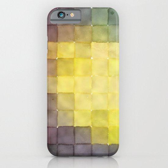 Polaroid Pixels V (Leaf heart) iPhone & iPod Case