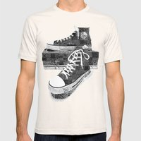 Get Chucked Mens Fitted Tee Natural SMALL