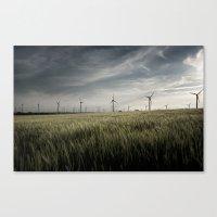 Wind Mils Canvas Print