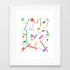 PARTY SPRINKLES Framed Art Print