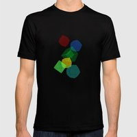 Rioalto Mens Fitted Tee Black SMALL