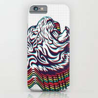 iPhone Cases featuring 3D Tiger by Ewan Arnolda