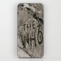 The Who iPhone & iPod Skin