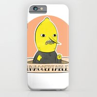 iPhone & iPod Case featuring earl of lemongrab by Tiffany Willis