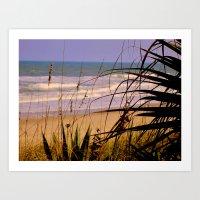 Is that our beach? Art Print