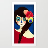 La Muertita ~ Candy Flavoured Art Print