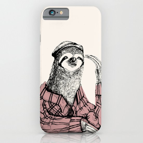 Perezoso iPhone & iPod Case