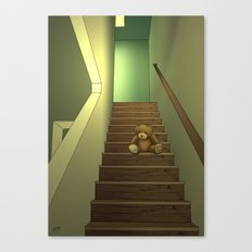 Alone Canvas Print