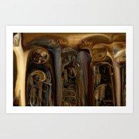 The Three Ancient Kings … Art Print