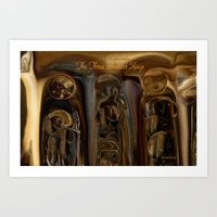The Three Ancient Kings … Art Print