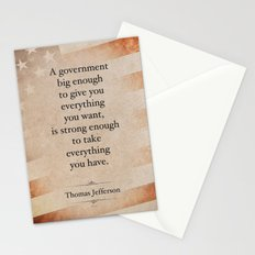 Thomas Jefferson Quote Stationery Cards