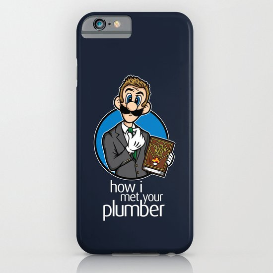 How I Met Your Plumber iPhone & iPod Case