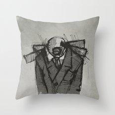 Wraith I. Throw Pillow
