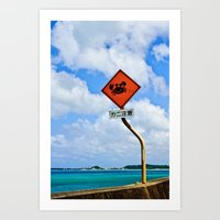 Why Did The Crab Cross T… Art Print
