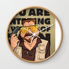A World of Pain Wall Clock