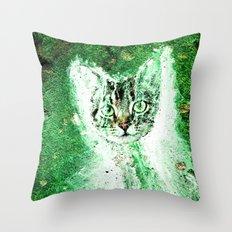 Meow Cat Universe Throw Pillow