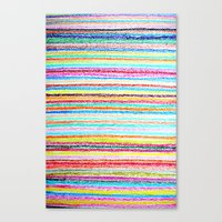 kids crayons Canvas Print