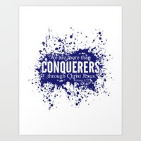 More Than Conquerers. Ro… Art Print