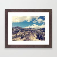 Anza Borrego Framed Art Print
