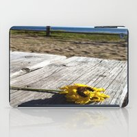 Flower By The Sea iPad Case