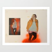 Self with Other Art Print