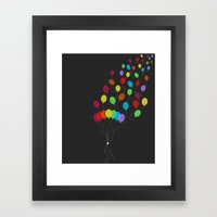 Pure Happiness Framed Art Print