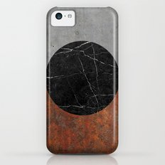 Abstract - Marble, Concrete, Rusted Iron iPhone 5c Slim Case