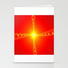 the sun and the spirit of energy Stationery Cards