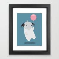 My Little Balloon Framed Art Print