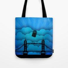 Tardis London Bridge Tote Bag