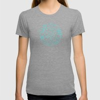 Oceanesque Womens Fitted Tee Tri-Grey SMALL
