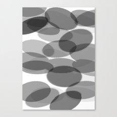 siyah beyaz Canvas Print