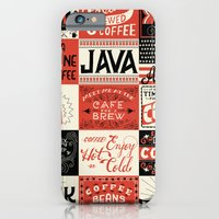 coffee iPhone & iPod Cases featuring Coffee by Mary Kate McDevitt