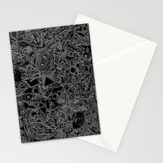 White/Black #1 Stationery Cards